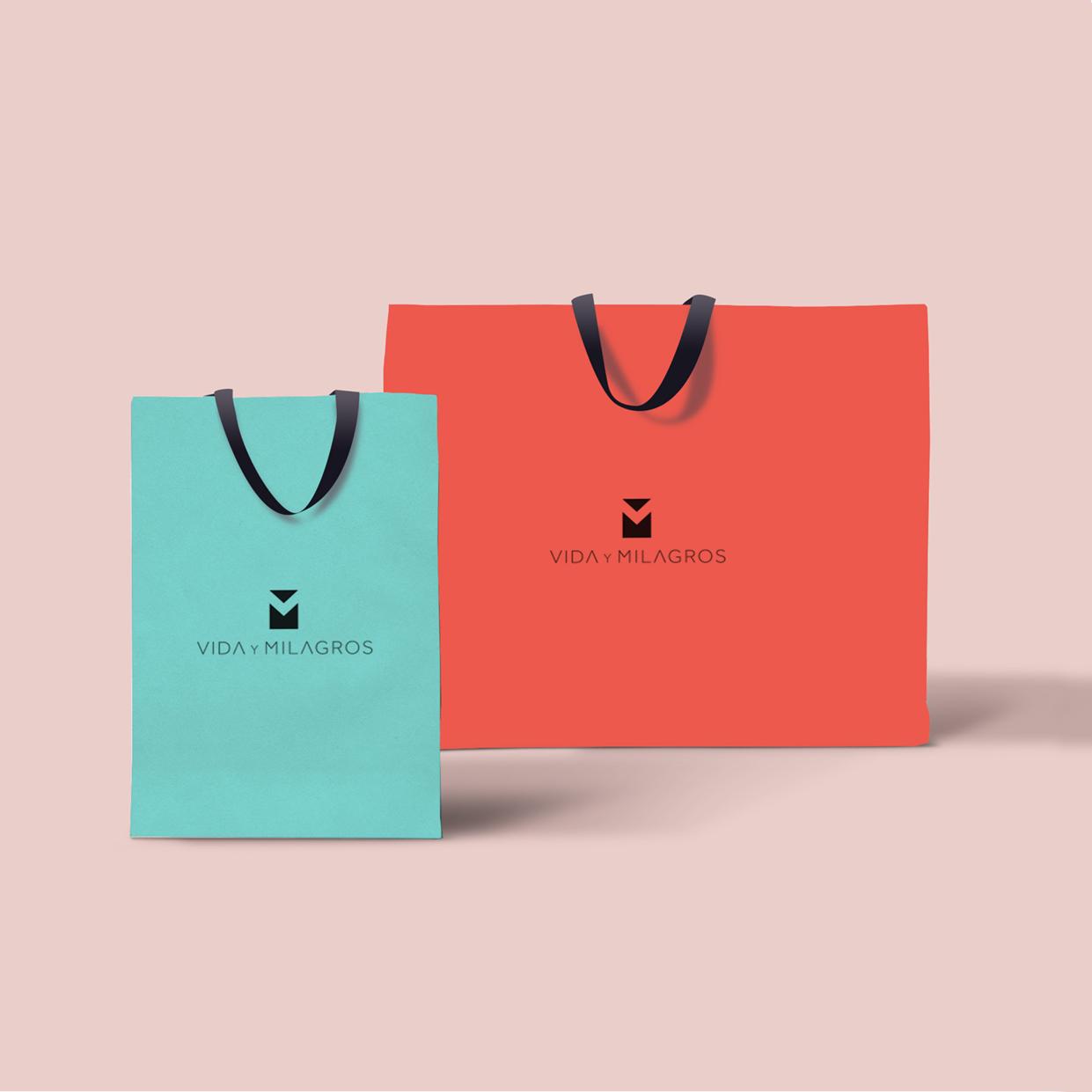 Diseño de bolsas - Diseño gráfico