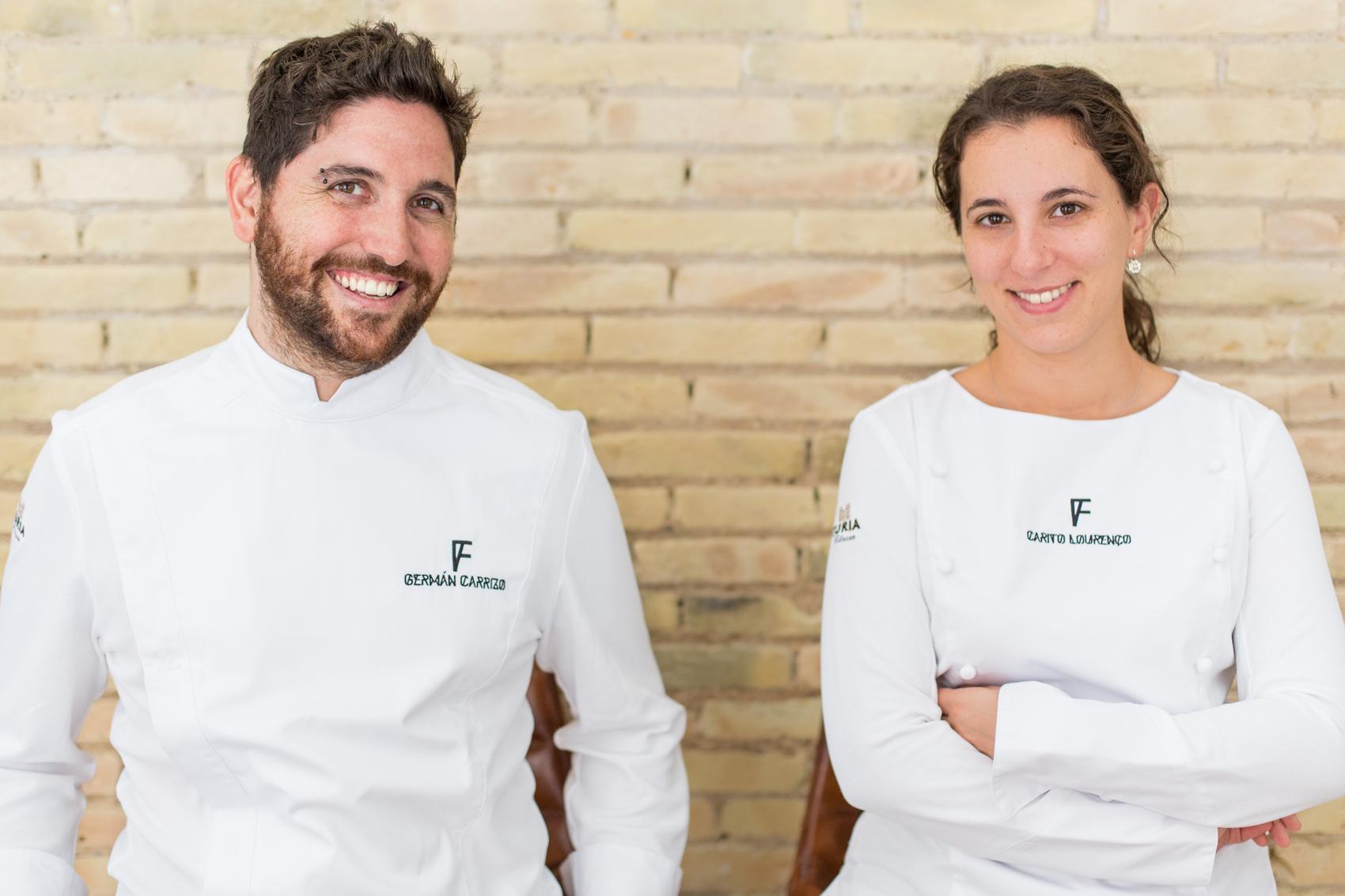 Germán y Cartio, chefs argentinos