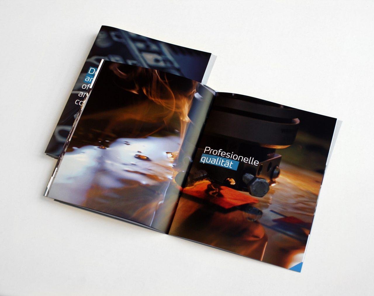Diseño editorial para Delta Valencia