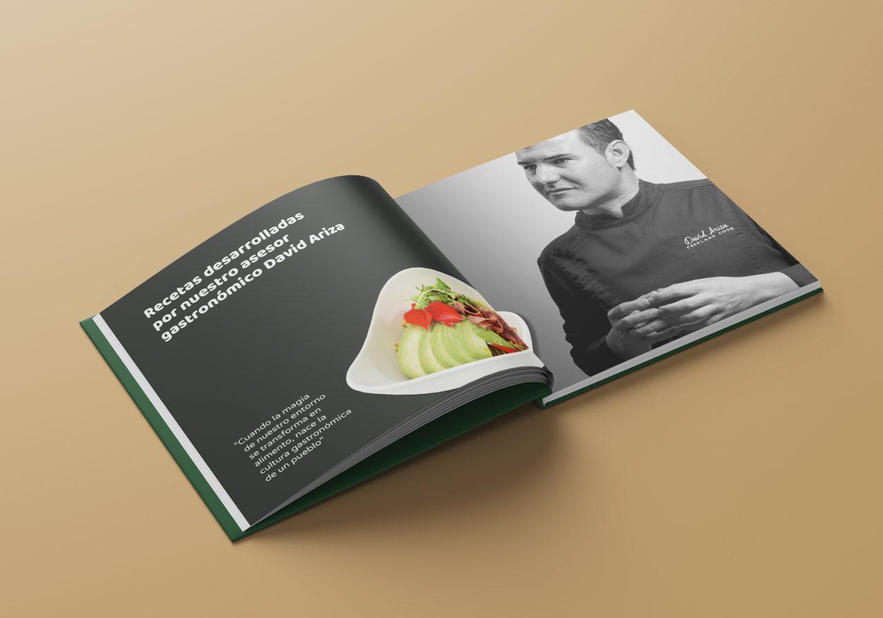 Diseño de catálogo para franquicia