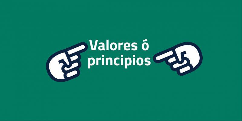 Valores y principios